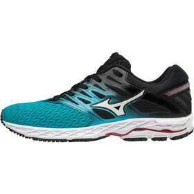 Mizuno Wave Shadow 2 Running Shoes Women peacock blue/silver/teaberry